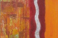 Wellen Tal 40 x 185 Acryl