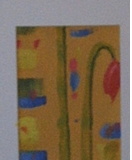 Gerbera Mohn 84 cm x 9 cm Acryl
