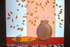Still-Leben Vase 60 x 70  Acryl