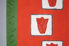 Tulpe 50 cm 40 cm Acryl