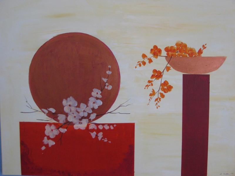 Japanischer Frühlingsstrauss